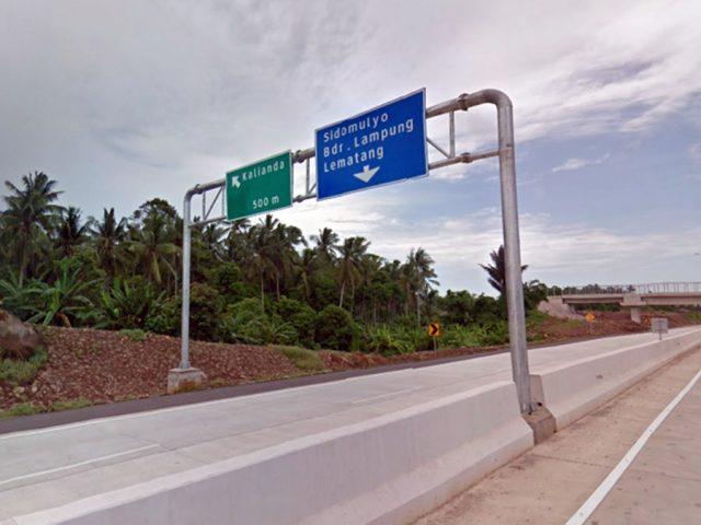 Exit Tol Kalianda