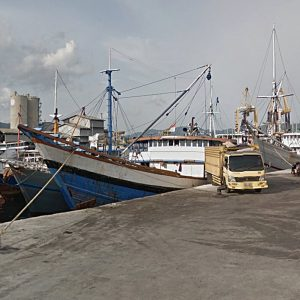 Ekspedisi Jakarta Daruba, Pulau Morotai