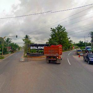 Ekspedisi Jakarta Paringin, Balangan
