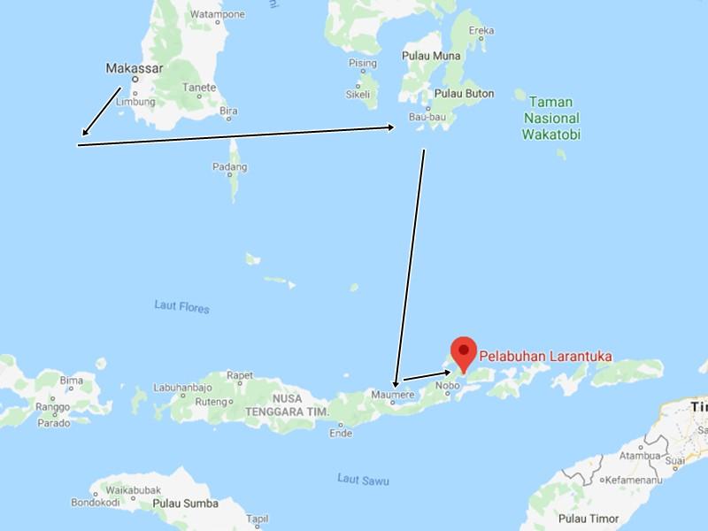Karena Corona, Kapal Pelni Tak Singgah di Larantuka