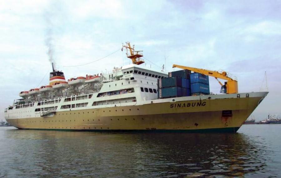 KM Sinabung Juga Port-Stay Mulai 14 April 2020